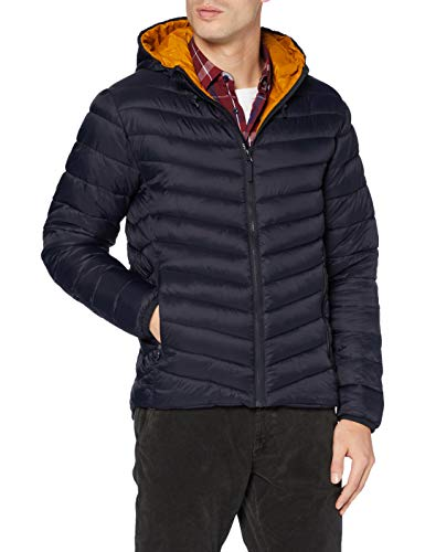 Joules Tom Herren Hooded Go to Jacket Jacke, Marine Navy, XX-Large