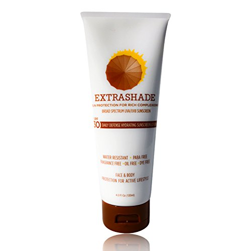 EXTRASHADE Hydro Boost Hydrating Face & Body Sunscreen, Regular UVA/UVB Moisturizing Lotion with SPF 30 - All Day Broad Spectrum Oil Free, Non-Greasy Sunblock for Sensitive Skin with Hyaluronic Acid