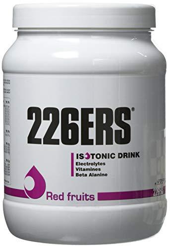 226ERS Isotonic Drink, Isotónico a base de Hidratos de Carbono, Vitaminas y Minerales, Frutos Rojos - 500 gr
