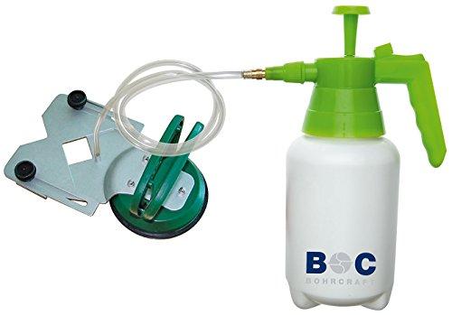 Bohrcraft 27010900003 Zentrierhilfe 8-85 mm + Druckwasserbehälter für Diamant-Fliesenbohrer, im Karton ZH 885