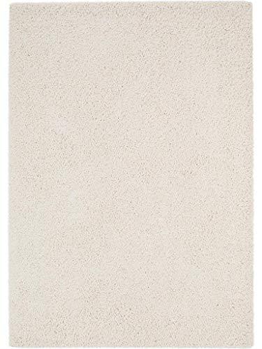 benuta Shaggy Alfombra, Beige, 80 x 150 cm