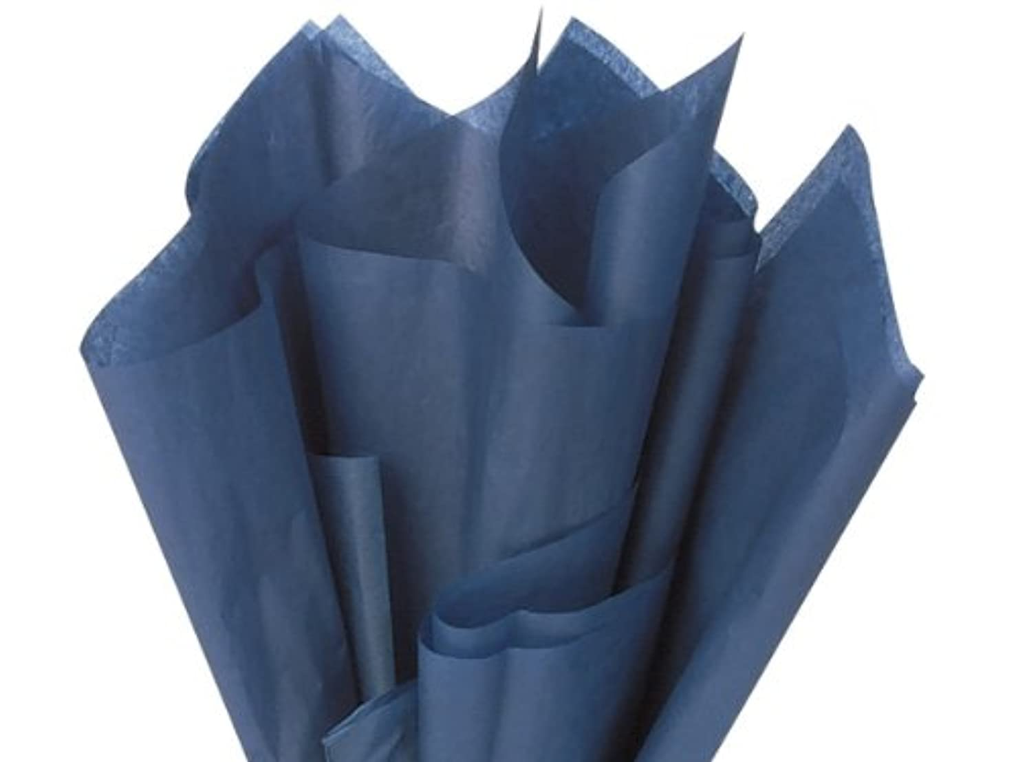 Navy Blue Wrap Tissue Paper 15 Inch X 20 Inch - 100 Sheets