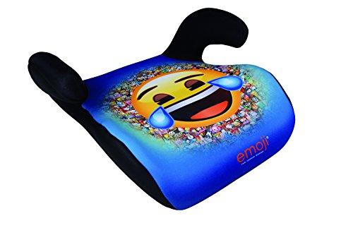 HiTS4KiDS - Kindersitzerhöhung, Auto-Sitzerhöhung, Kindersitz, 15-36kg, 3-12 Jahre, Gruppe 2-3, ECE R44/04 geprüft, Disney Emoji