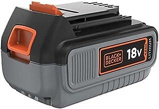 Black+Decker Akumulator litowo-jonowy (18 V 4,0 Ah, do wszystkich urządzeń ogrodowych i elektronarzędzi 18 V/F5, łatwa w o...