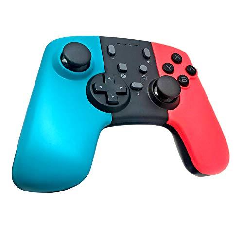 JZWX Pro Controller Für Switch, Drahtlose Bluetooth-Game-Controller Für Switch Konsolen Mit Programmierschlüssel + Farbe Shell + Built-In Gyroskop + Unterstützte PC360 Funktion