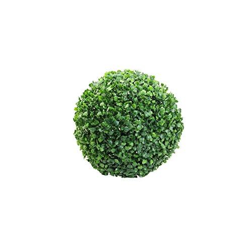 Cr Künstliche Buchsbaum Buchsbaumkugel Buchskugel Kugel Dekorationskugel Kunstpflanzen (12CM)