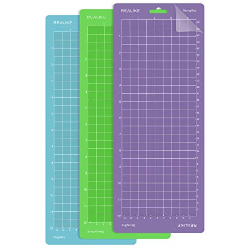 REALIKE Cutting Mat for Cricut Joy Cutting Writing Machine 4.5'X12'inch...