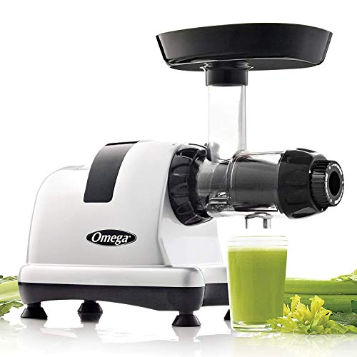 Omega MM900HDS Medical Medium Slow Masticating Celery Juicer High Juice Yield Adjustable Dial,...
