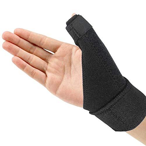 Libershine Flexible Daumenbandage Für Links & Rechts, Daumenschiene Schützt Sattelgelenk & Daumengrundgelenk, Daumenorthese, Daumenschutz