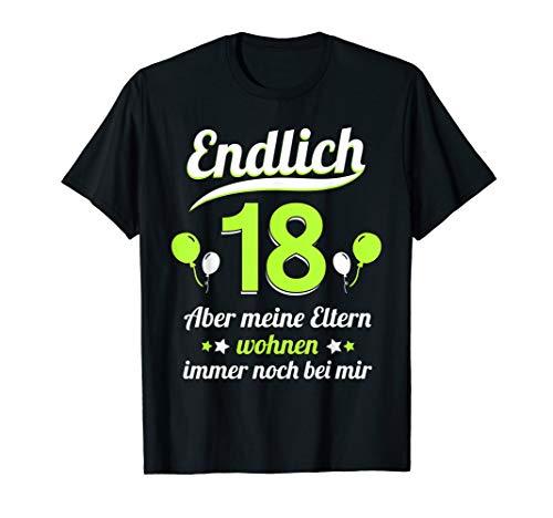 Lustiges 18. Geburtstag Party Teenager Mann Frau Geschenk T-Shirt
