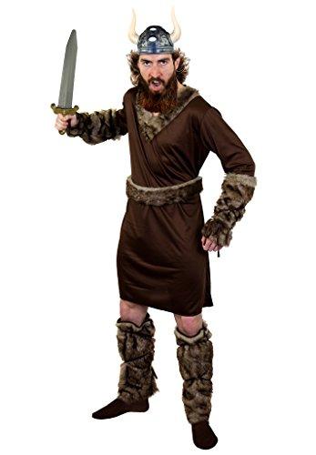 Disfraz vikingo, casco vikingo, con diseño de tronos medievales de espada para hombre salvaje, perfecto para fiestas de disfraces de TV y película, tamaño pequeño
