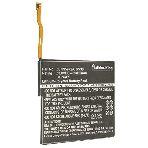 Preisvergleich Produktbild Akku-King Akku kompatibel mit Motorola GV30 - Li-Polymer 2300mAh - für Moto Z,  Z Dual SIM,  Z Droid Edition XLTE,  XT1650-01,  XT1650-03,  XT1650-05