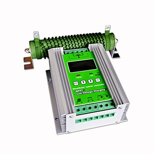 vFound 1000W Contrôleur hybride solaire de type haut de gamme MPPT Wind Panneau de commande 600WW et 400W 12V/24V DC identifiant automatiquement la tension du système(MPPT)