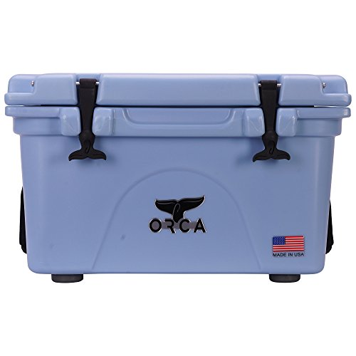 ORCA 26 Cooler with Roto-molded Construction in Light Blue