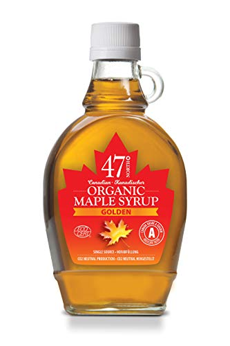 47 North Sciroppo dacero biologico canadese, Single Source, Grad A, Golden, 250g LIMITED EDITION …