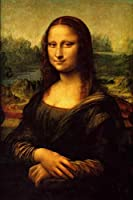 番号キットによってペイントモナリザ プレプリントキャンバス、3つのブラシ、カラフルなアクリル絵の具を含む初心者向けのDIYキャンバス油絵キット16x20インチ