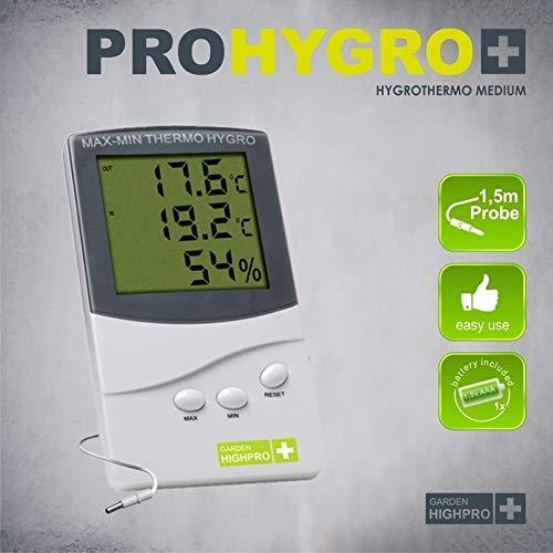 Garden Highpro Thermo- Hygrometer medium