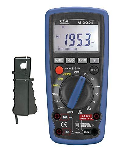 CEM AT-9906DIS Multimeter Motortester PKW KFZ Diagnose Messen【3 Jahr Garantie】