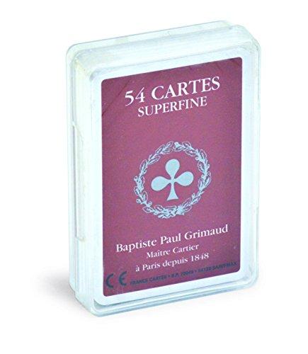 Jeu de 54 Cartes Superfine. Boite Cristal. [Reliure inconnue] by