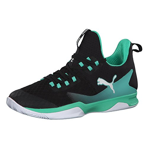 Puma Unisex-Erwachsene Rise Xt 3 Multisport Indoor Schuhe, Schwarz (Puma Black-Biscay Green-Puma White), 46 EU