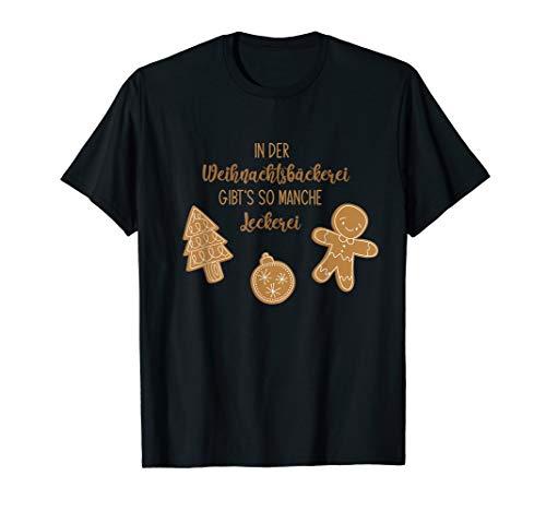 Weihnachten Bäckerei Lebkuchen Kekse Plätzchen Backen Team T-Shirt