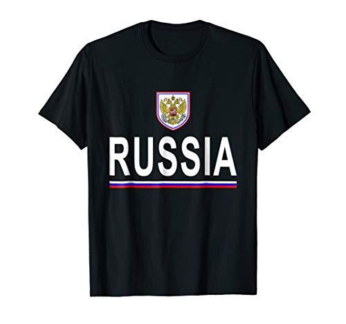 Russia, Rossiya Cheer Jersey 2017 - Football Russian T-Shirt