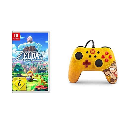 The Legend of Zelda: Link's Awakening [Nintendo Switch] & Erweiterter kabelgebundener PowerA-Controller für Nintendo Switch – Donkey Kong [ ]