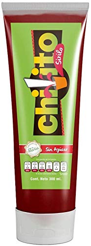 Chamoy chilito sirilo stevia, Without Sugar, 100% Natural, chamoy Sauce de buen sabor Mexican Candy, Keto Friendly