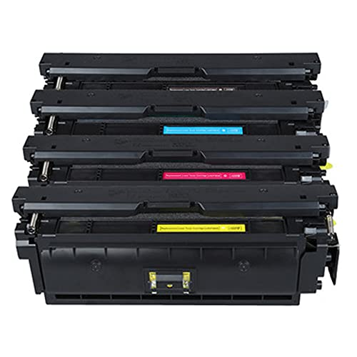 Para CANON CRG040 Reemplazo de cartucho de tóner para Canon LBP712CDN 712CX 710CX Impresora con chip Negro amarillo Cyan Magenta Administración Suministros de oficin Suit