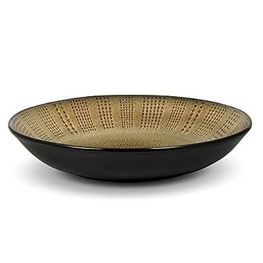 Gourmet Basics Linden Pasta Bowl, 3-1/2-Quart