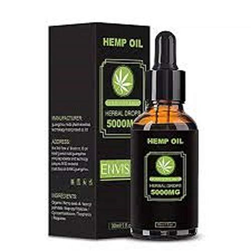 ENVISHA Hemp Oil Herbal Drops 5000MG 30ml