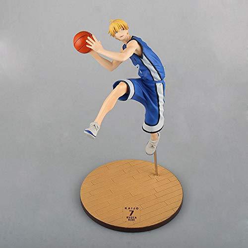 SDFDSSR Anime Puppe Kurokos Basketball Kise Ryota Miracle Generation Nr. 7 Figur, Hochwertige Version, Statue, Puppe, Skulptur, Spielzeug, Dekoration, Modell, Puppenhöhe 27cm