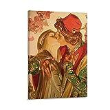 Romeo- und Julia-Poster, dekoratives Gemälde, Leinwand,