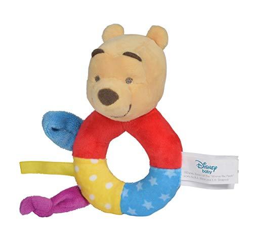 Simba The Puuh Ring Rassel, Color Disney Winnie l'ourson Hochet en Forme d'anneau, 6315876548