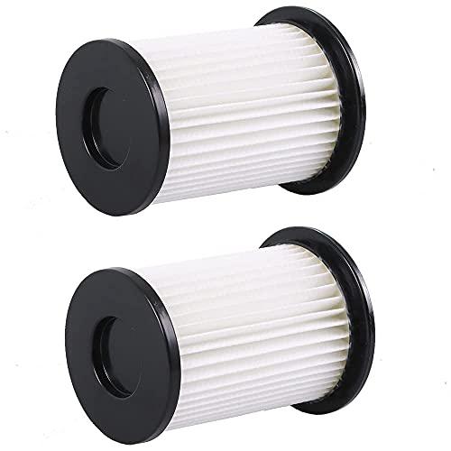 2 Hochwertige HEPA Filter - Für Akku Staubsauger CleanMaxx PC P008E und PC P009E passend - Wiederverwendbar aus umweltfreundlichem Material - Bestleistung beim Saugen