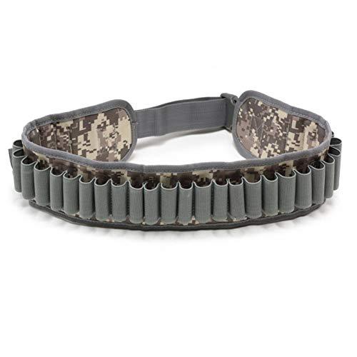 N \ A Soporte Impermeable para Cartuchos de Escopeta Estuche para cinturón de Nailon Calibre de munición Escopeta Ajustable Rondas Bandolera para el Hombro