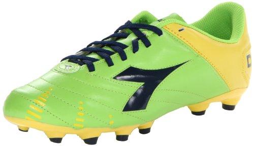 Diadora Soccer Herren Evoluzione R MG 14 Fußballschuhe, Grn (Limetten/Gelb/Marineblau), 40 EU