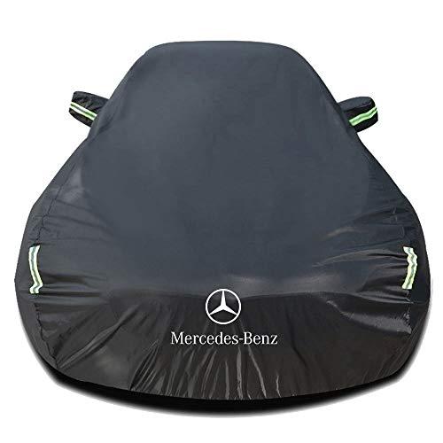 Autoabdeckung Kompatibel mit Mercedes-Benz SL-CLASS SL280/280 SL Pagoda/SL280 AUT/CAT, Wasserdicht Autoabdeckplane Abdeckung Plane Autoplane Vollgarage Autogarage mit Aufbewahrungstasche