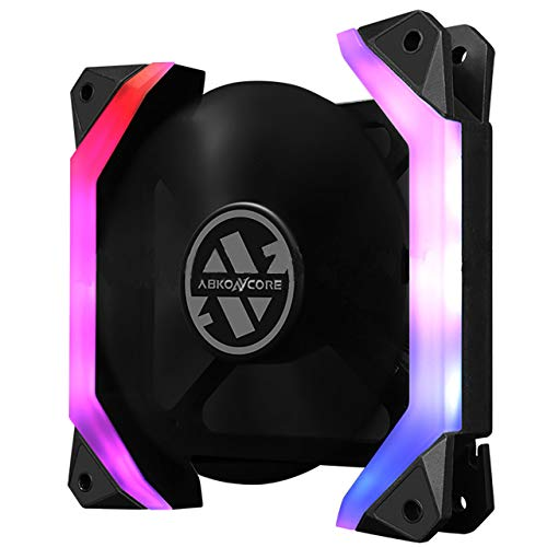 Abkoncore Spider Spectrum Fan ventilator, zwart, single pack