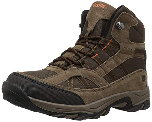 Northside Unisex-Kid's Rampart MID Hiking Boot, medium brown, 7 Medium US Big Kid