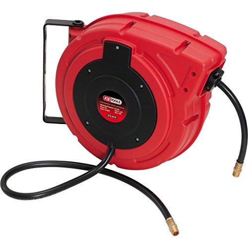 KS Tools 515.3410 Enrollador de manguera de aire comprimido, Ø10,0mm, racor 3/8'