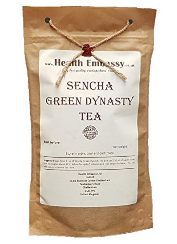 Sencha Té Verde 75g / Sencha Green Dynasty Tea 75g Health Embassy