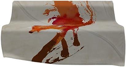 Deny Designs Robert Farkas Fleece Throw Blanket, Vulpes, 60 by 50-Inch