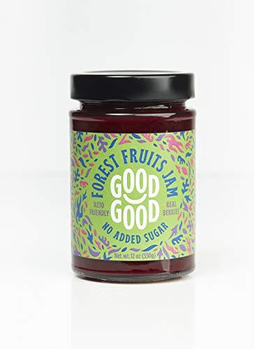 Sweet Forest Fruit Jam by Good Good - 12 oz   330 g - Keto Friendly No Added Sugar - Keto - Vegan - Gluten Free - Diabetic