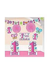 Molti articoli decorativi per la prima festa di compleanno. Ideale per feste di compleanno per bambini Potete scegliere tra diverse irresistibili. Sweet Birthday Girl.