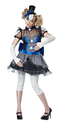 California Costumes Disfraz de muñeca de Porcelana rajada para Mujer