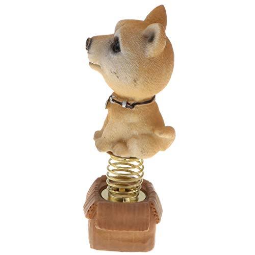 perfeclan Perro Cachorro Animal Juguete Muñeca Casa Coche - Caqui