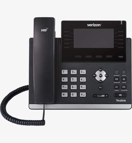 verizon cordless phones Verizon Yealink SIP-T46G Ultra Elegant Gigabit IP Phone (Renewed)