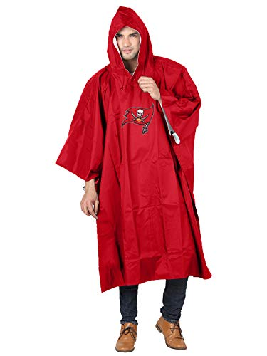 NFL Tampa Bay Buccaneers Deluxe Poncho, 44