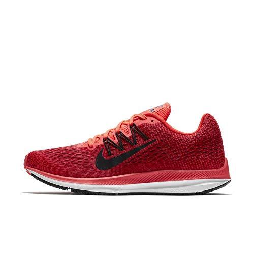 Nike Men's Zoom Winflo Running Shoe (10.5 D US, Bright Crimson/Oil Grey)